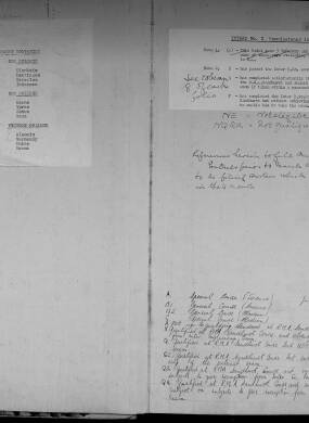 Royal Military Academy Sandhurst (RMAS) Cadet Register - Volume 1 (1947 - 1951) - Intake 01 - 07