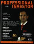 Professional Investor 2009 Spring