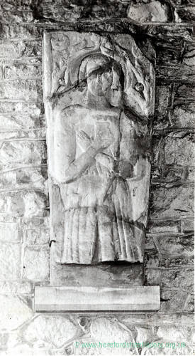 Effigy, Woolhope Church, 1928