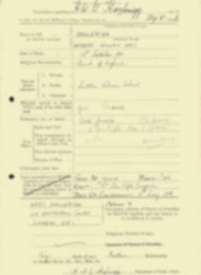RMC Form 18A Personal Detail Sheets Feb & Sept 1933 Intake - page 213