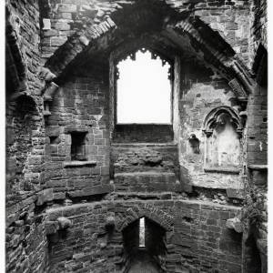 South West Tower, Goodrich Castle, interior