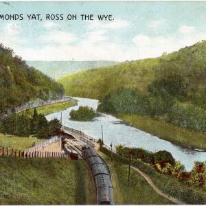 POP014 Symonds Yat, Ross on the Wye, published by H G Bussel Ross on Wye series, c1909.jpg
