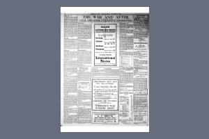 21 DECEMBER 1918