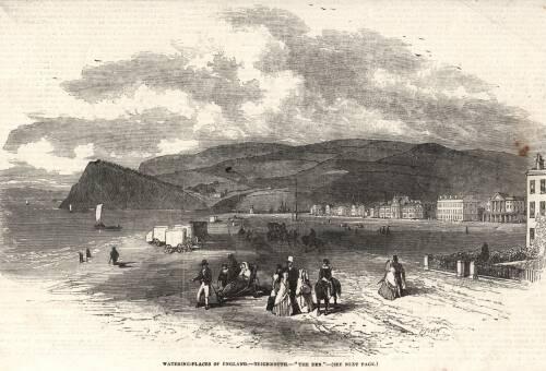 'The Den', c1851,Teignmouth