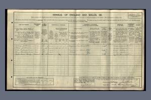 1911 Census - White Heather, Graham Road, Mitcham