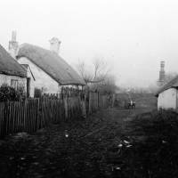 Southport, old cottages,1870's