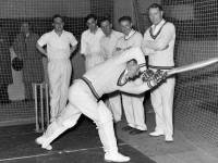 Indoor Cricket Practice, Mitcham Baths Hall