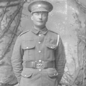 Soldier possibly Brecknockshire Battalion (South Wales Borderers)