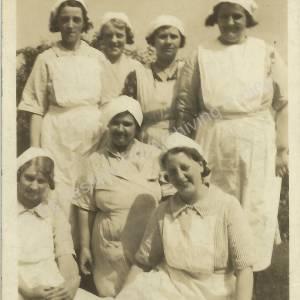 Grenoside Isolation Hospital Staff Group c. 1920s (2)