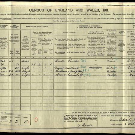 1911census Latimer Road