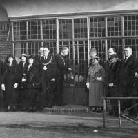 Opening of Pavilion café, Litherland Park, Litherland, 1936