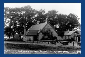 Grand Drive, Raynes Park: The Parochial Hall