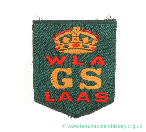 Woman's Land Army Good Service Badge