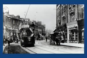 Tram in The Broadway,Wimbledon