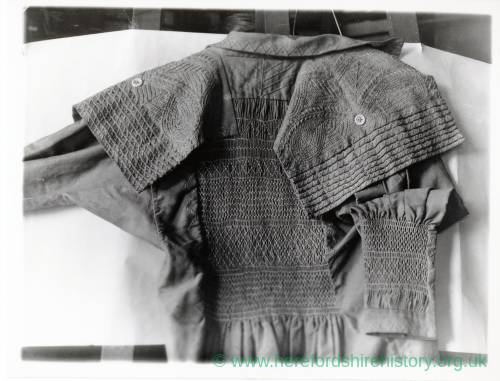 Mens' Smock with detailed needlework
