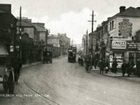 Wimbledon Hill Road, seen from the Wimbledon Station