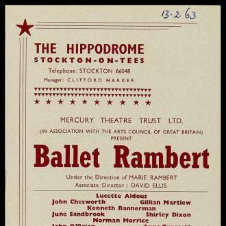 Hippodrome, Stockton-on-Tees, February 1963