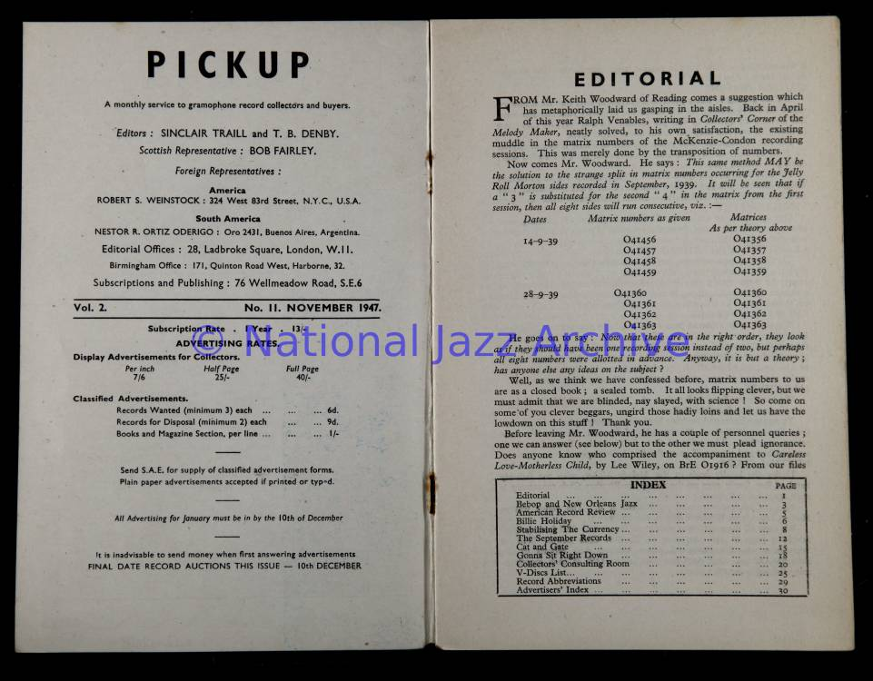 Pickup Magazines Vol 2 No 11 November 1947 0001 - National