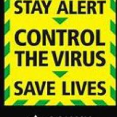 2020 June Government Poster During Corona Virus (Covid 19) Pandemic