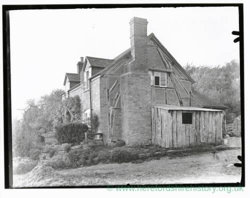 Bradbourne's Farm, Whitborne, Herefordshire, 1934