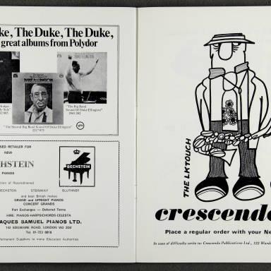 Duke Ellington Orchestra 'Sacred Concert' – Westminster  Abbey 24th   October 1973 015