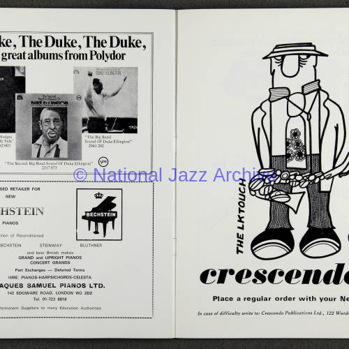 Duke Ellington Orchestra 'Sacred Concert' – Westminster  Abbey 24th   October 1973 015
