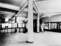 The booking hall at South Wimbledon Underground Station.