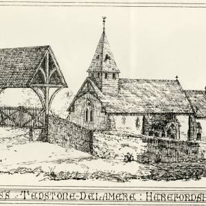 St James Church, Tedstone Delamere, Herefordshire