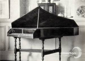 Eagle House, Wimbledon: Harpsichord