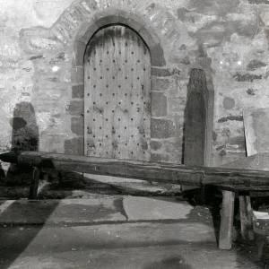 St Clydog's Church, Cloddock, bench