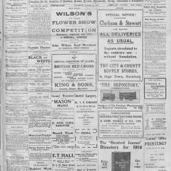 Hereford Journal - 15th August 1914