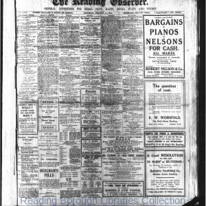 Reading Observer 1914