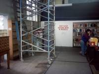 Refurbishment work, Wimbledon Library