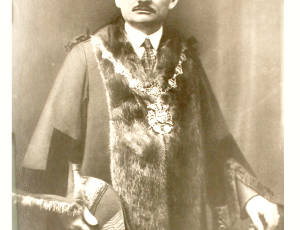 1923-1924, John Henry Wright, Mayor of Leigh