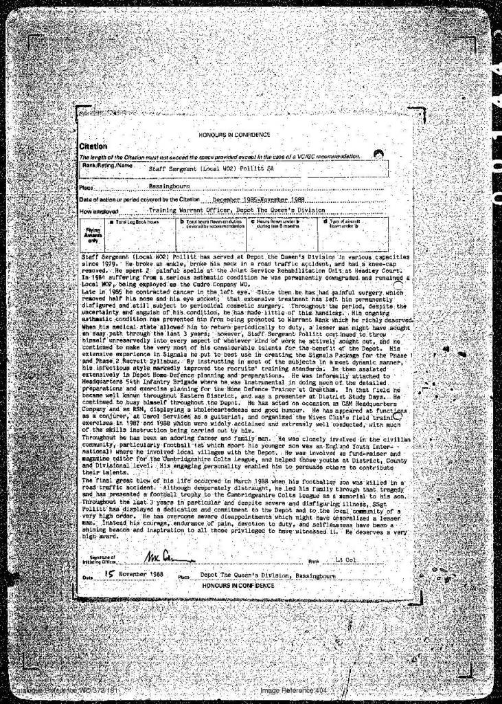 306 Pollitt BEM citation 17 Jun 89-2.jpg