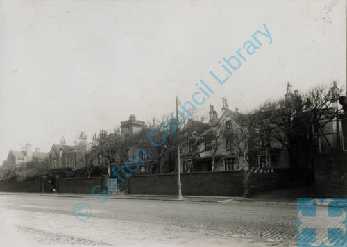 Crosby Road South Houses, Seaforth, c1900