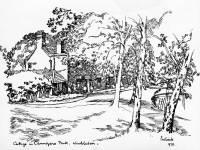 Cottage at Cannizaro Park, Wimbledon