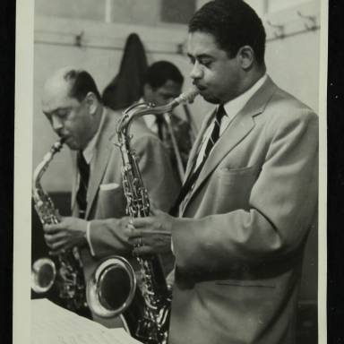Marshal Royal and Frank Wess (left to right)