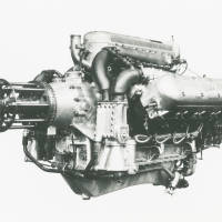 Lion Series II engine: Napier