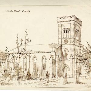 St Mary & St Thomas Canterbury Church, Much Birch