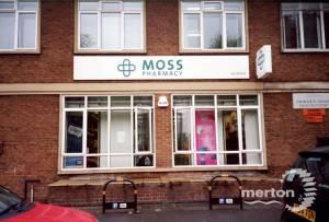 Morden Road: Moss Pharmacy, Morden Hall Medical Centre