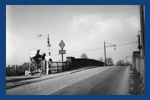 Mitcham Junction Bridge under reconstruction