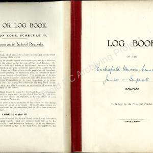 Warren Lane School logbook