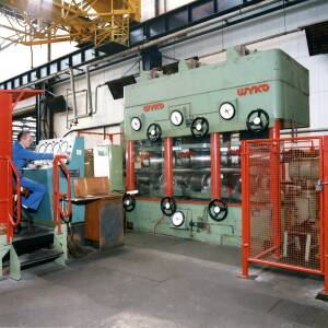 A Wyko machine in operation at Wiggins in Hereford.