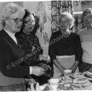Burncross Methodist Church Sisterhood.November 1986