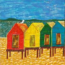 Huts And Gulls