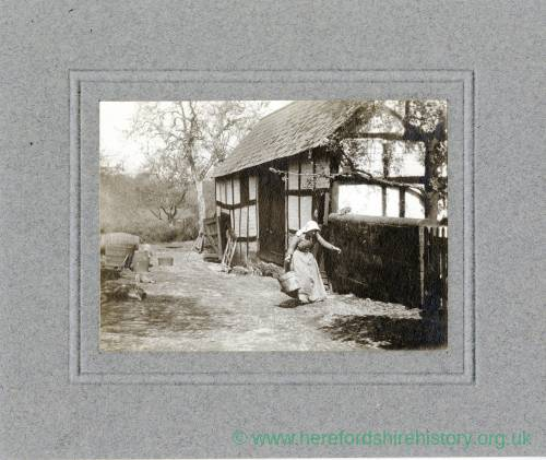 Aylhill, Cow Houses and Cider Mill, 1910