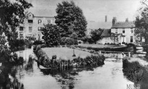 Grove Mill, Mitcham Bridge