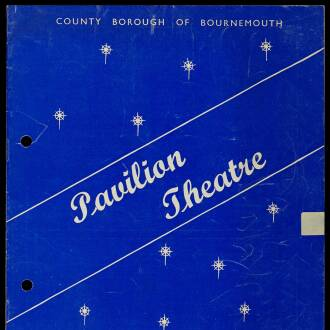Pavilion Theatre, Bournemouth, June 1964 - P01