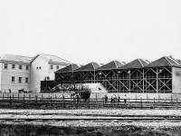 Harvey & Knight's Floorcloth factory, Mitcham